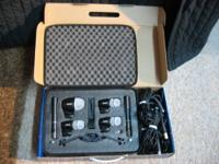 Model # PGDMK6 - six piece mic set. Great for recording