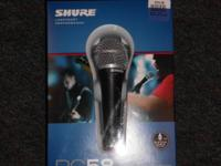 Shure Microphone 43 PG58-QTR Shure Microphone 43