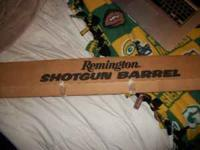 2 3/4 or 3'' shells Remington Shotgun Barrel Took of an