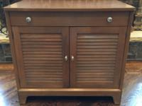Shutter Cabinet   Dimensions:  32 1/4 inches long 19