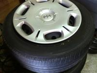 I have for sale a set of (4) Wheel's and Hub Cap's, In