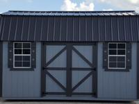 10'x16' Side Lofted Barn Storage shed portable