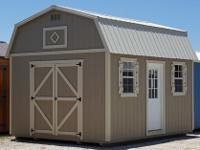 12'x16' Side Lofted Barn storage shed, portable