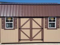 10'x16' Side Lofted Barn Storage