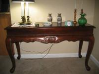 Beautiful side table. Makes excellent TV Table $45.00