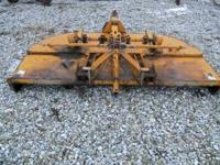 Sidewinder 10foot brush cutter. 3 point hitch. it has a