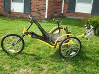 Almost new Sidwinder recumbent trike very clean divorce