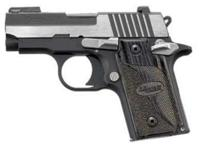 This is a Sig Sauer P238 Equinox which is an extremely
