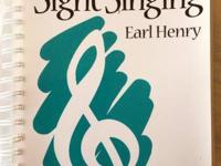 SIGHT SINGING  Spiral-Bound (1997) By: Henry  ISBN: 4