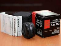 EXTEND YOUR REACH with this Sigma 1.4 x Ex Lover DG APO