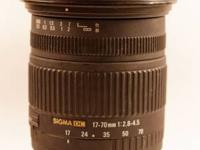 The Sigma 17-70mm f2.8-4.5 is an extremely nice upgrade