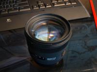 Fresh Sigma 50mm f/1.4 EX DG HSM lens for Canon.