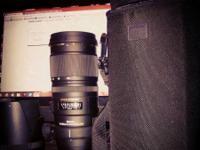 Sigma 70-200mm f/2.8 APO EX DG OS HSM Lens -Nikon-