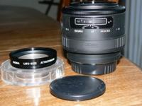 Available is this Sigma AF 90mm f/2.8 Macro/Portrait