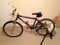"SIGMA CALOI Mountain Bike I believe it is 54"", I am"