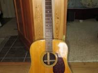 Truly nice early 80's Korean made Sigma DR-28, a Martin