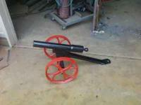 Black powder signal cannon very loud. shoots