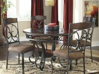 I purchased this dining set from Ashley Furniture in