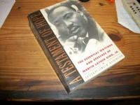 Subtitled Essential Writings of MLK; a letter inside