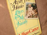 Signed by Lillian Carter first edition asking $75 need