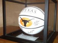 I have a signed Texas Longhorn ( NCAA ) basketball for