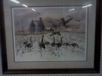 """Sharing The Land"" James H Killen 1991 Ducks Unlimited"