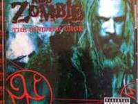 Signed Rob zombie CD the sinister urge signed on disc