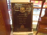 We just received a Huge Bronze Tablet which was on