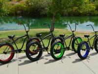 The SIKK UFO fat tire bikes are in SD! These are a one