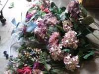 SILK FLOWERS - GREAT FOR MAKING BOUQUETS We only do