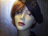 This Fashionable Set of Beret and Wrap are lined with