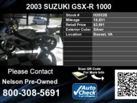 Call Nelson Pre-Owned at  There is a Carfax vehicle
