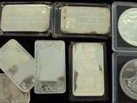 We have silver bars and coins for sale at fair market