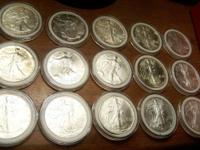 I m selling my entire silver collection for the prices