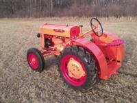 40's silver king tractor high-way mower new generator