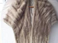 This is a lovely vintage mink stole in excellent