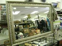 "We have a great Silver Framed Mirror - Size 43"" x 31"" -"
