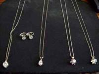 HAVE 4 SILVER .925 NECKLACES FOR $10 each ALSO HAVE 1