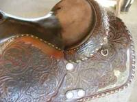 for sale is a Silver Royal saddle 15 inch seat, Full