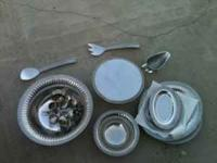 Silver serving set. Made by Wilton $50for all pick up
