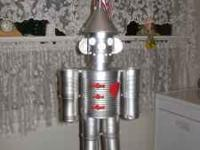 Silver tin man - makes a great gift for the person who
