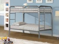 SILVER, WHITE, RED OR BLACK T/T BED 199.00   SLEEP