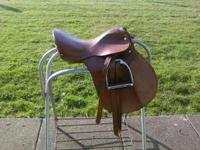 I am selling my SilverFox English saddle it's in almost