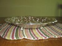 SILVERPLATE BOWL TARNISH RESISTANT * The bowl measures