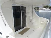 The Silverton 38 Sport Bridge is a spacious boat with