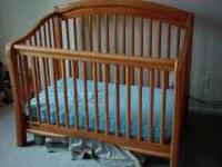 Simmons Crib 'N' More Meridian Style crib, toddler bed,