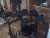 Simmons complete drum set, with extras! Throne! Double