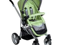 This Simmons Kids stroller easily converts from an