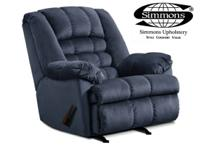 BRAND NEW SIMMONS RECLINER!! HERCULON FABRIC!! (ONE OF