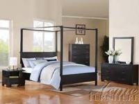 Brand new set includes queen bed, night stand, dresser,